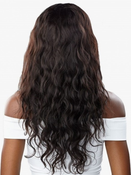 SENSATIONNEL 100% UNPROCESSED HUMAN HAIR 10A HEADBAND WIG BODY WAVE 24