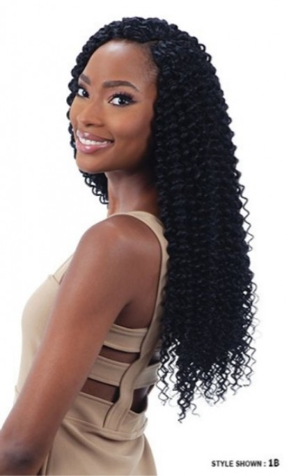 MAYDE BEAUTY SYNTHETIC CROCHET BRAID 2X DEEP WAVE 20