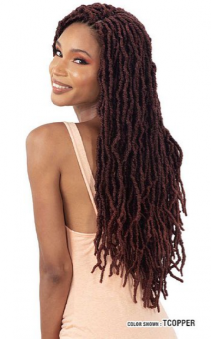MAYDE BEAUTY CROCHET BRAID 3X MODERN SOFT LOC 20