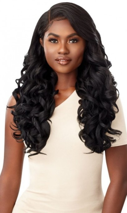 OUTRE MELTED HAIRLINE COLLECTION HD SWISS LACE FRONT WIG ALONDRA