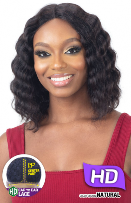 SHAKE N GO NAKED BRAZILIAN HUMAN HAIR HD LACE FRONT WIG ARDEN