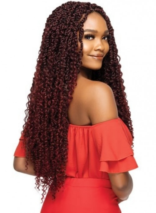 OUTRE XPRESSION TWISTED UP CROCHET BRAID BOHO PASSION WATER WAVE 24