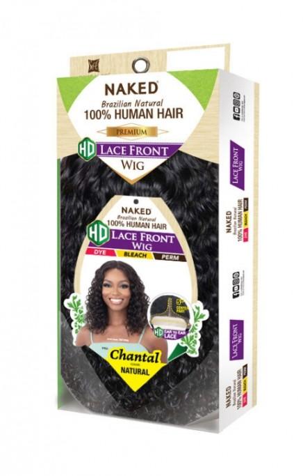 SHAKE N GO NAKED PREMIUM 100% HUMAN HAIR HD LACE FRONT WIG CHANTAL