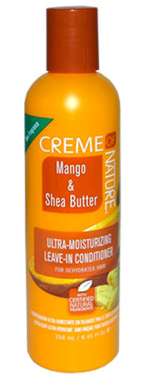 CREME OF NATURE MANGO & SHEA BUTTER ULTRA MOISTURIZING LEAVE IN CONDITIONER 8.45OZ