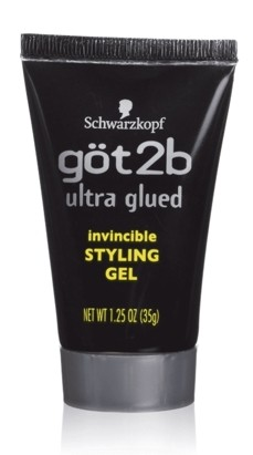 GOT2B ULTRA GLUED INVISIBLE STYLING GEL BLACK 1.25 OZ