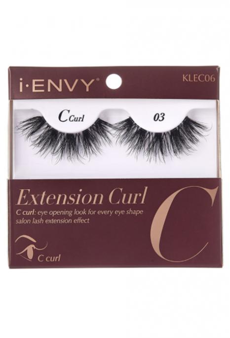 KISS EXTENSION CURL C CURL 06