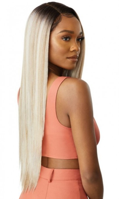 OUTRE COLOR BOMB SWISS LACE FRONT WIG KOURTNEY
