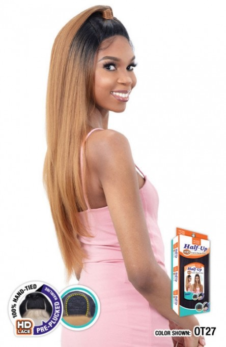 MODEL MODEL SYNTHETIC HALF-UP HD LACE FRONT WIG MAISY