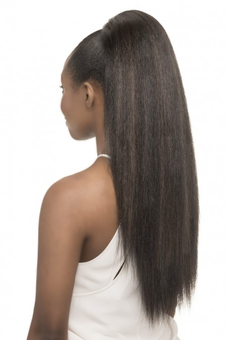 VIVICA A FOX HUMAN HAIR BLEND DRAWSTRING PONYTAIL HPB-NIA 26