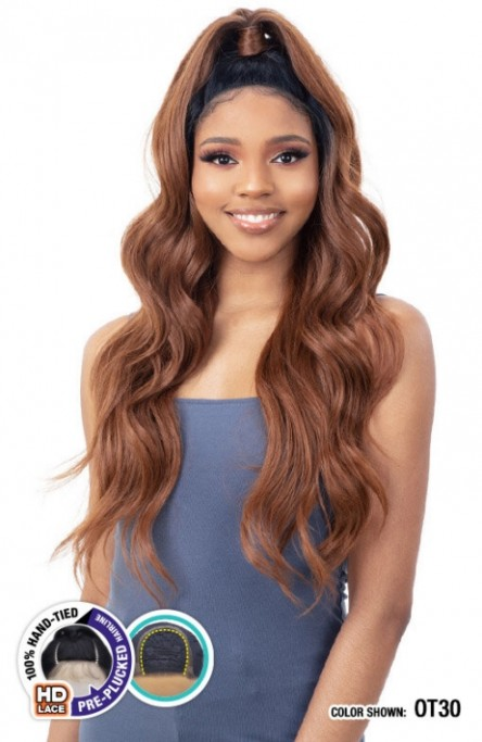 MODEL MODEL SYNTHETIC HALF-UP HD LACE FRONT WIG SHANICE