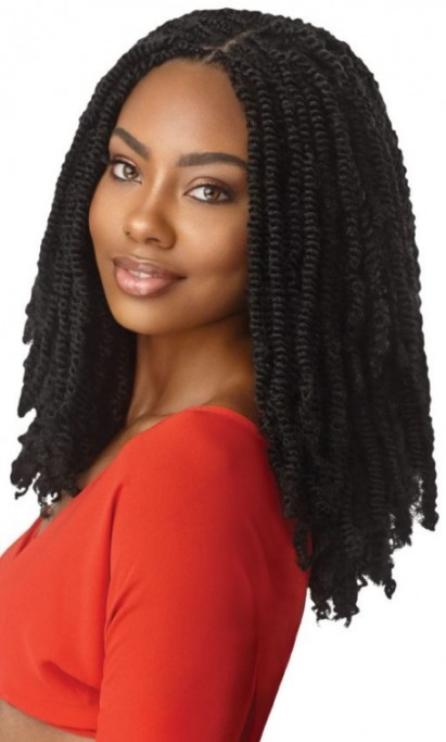 OUTRE X-PRESSION TWISTED UP CROCHET BRAID 3X SPRINGY AFRO TWIST 16