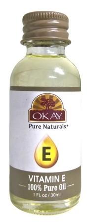 OKAY PURE NATURAL 100% PURE VITAMIN E OIL