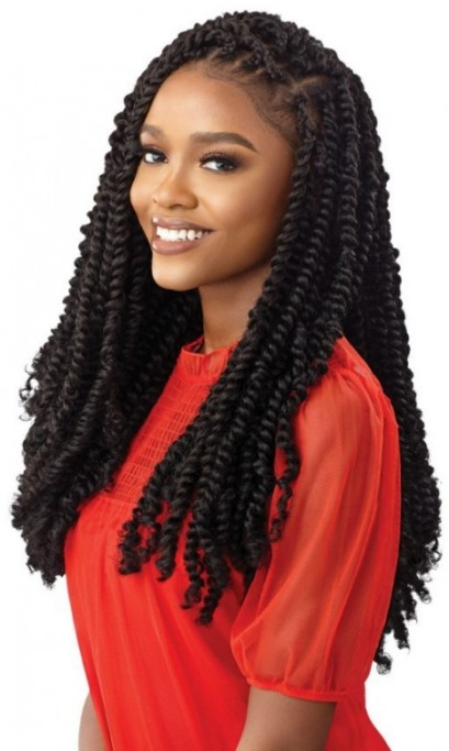 OUTRE X-PRESSION TWISTED UP CROCHET BRAID WATERWAVE FRO TWIST 22